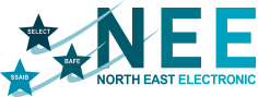 North East Electronics logo